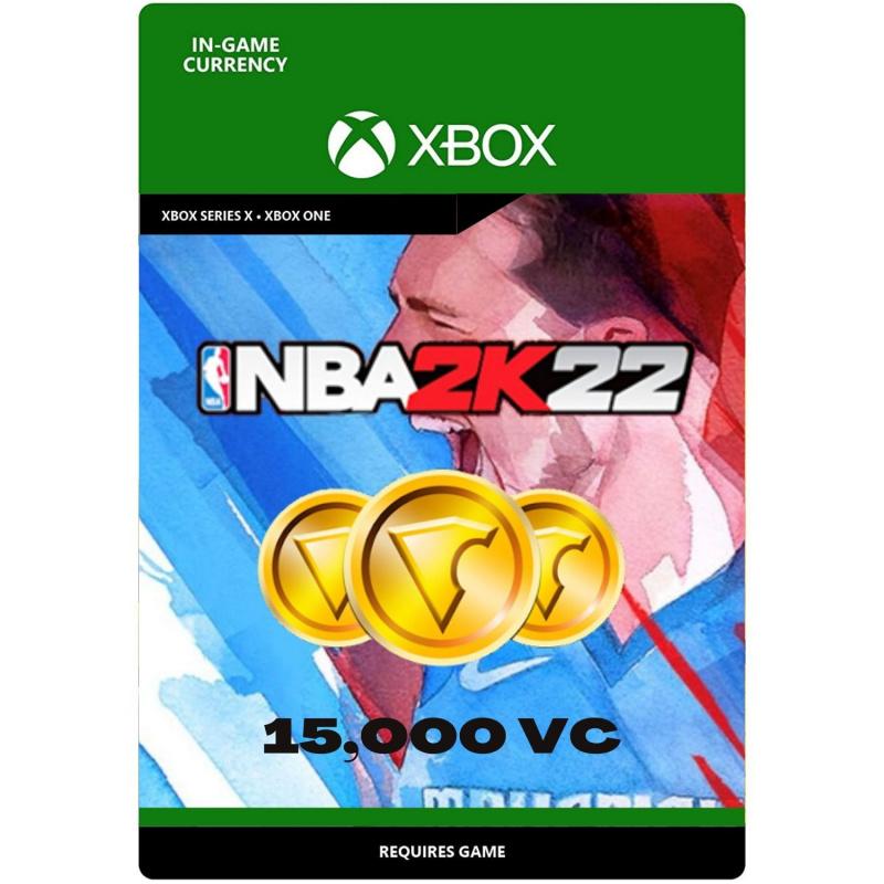 NBA 2k22 15,000 VC Xbox One | Series S/X (kodas)