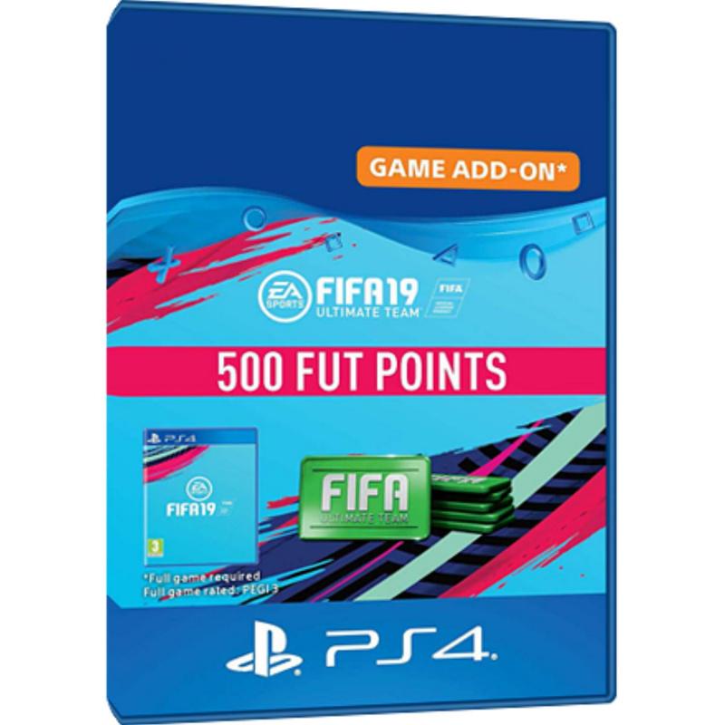 FIFA 19 500 FUT points PS4 skaitmeninis