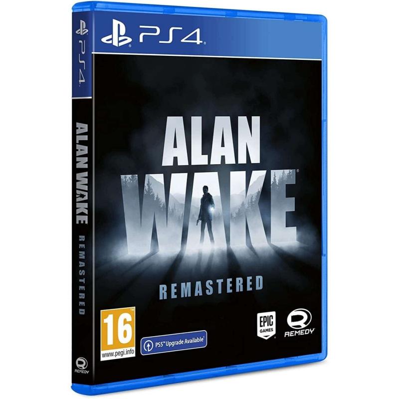 Alan Wake Remastered PS4   PS5