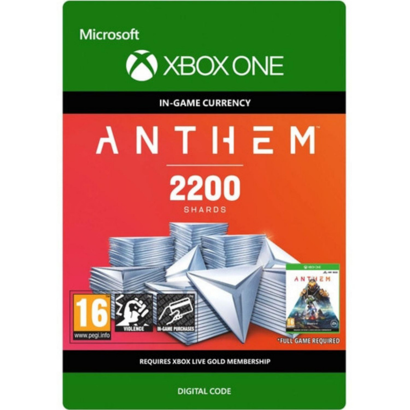 Anthem 2200 Shards Pack Xbox One