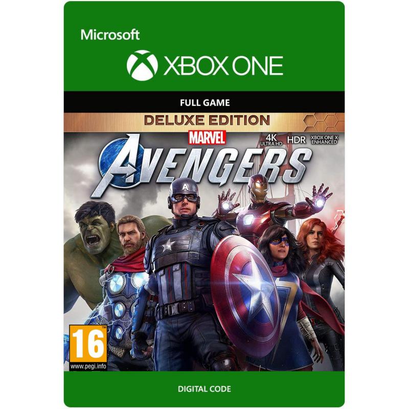 Marvel's Avengers Deluxe Edition Xbox One skaitmeninis