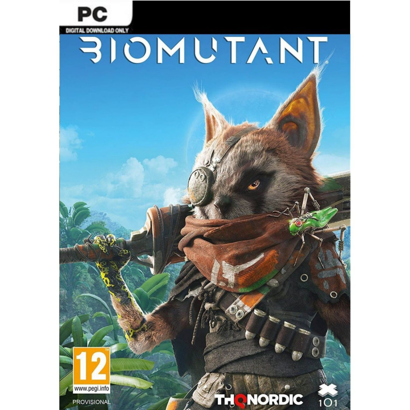 Biomutant PC (kodas) Steam