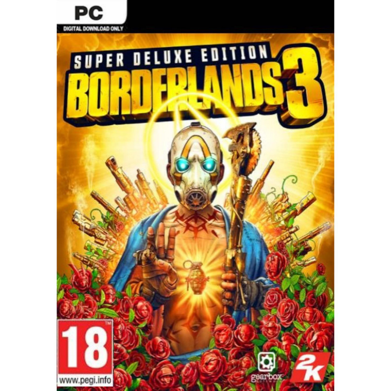 Borderlands 3 Super Deluxe Edition PC skaitmeninis