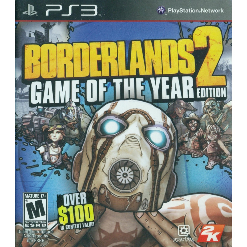 Borderlands 2 Game Of The Year Edition PS3