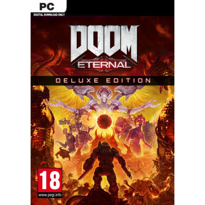DOOM Eternal Deluxe Edition PC skaitmeninis
