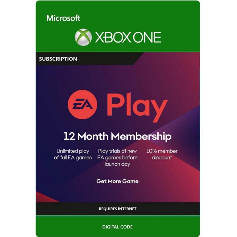 EA Play 12 mėnesių prenumerata Xbox One
