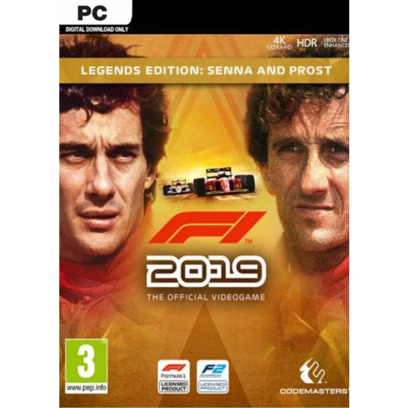 F1 2019 Legends Edition PC skaitmeninis