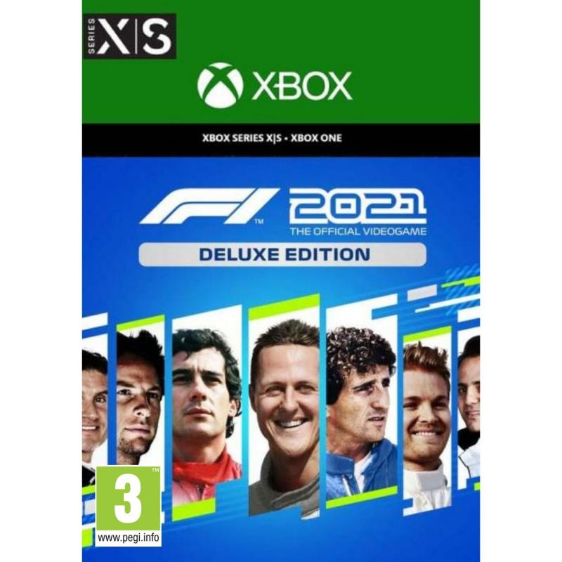 F1 2021 Deluxe Edition Xbox One   Series X (kodas)