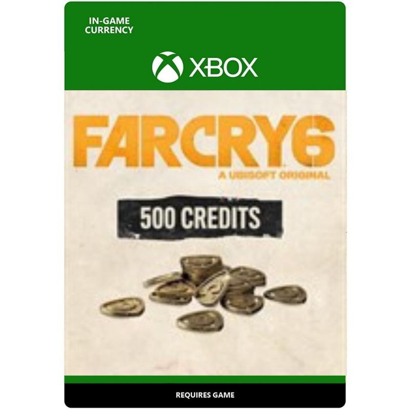 Far Cry 6 žaidiminė valiuta - 500 kreditų Xbox One (kodas)