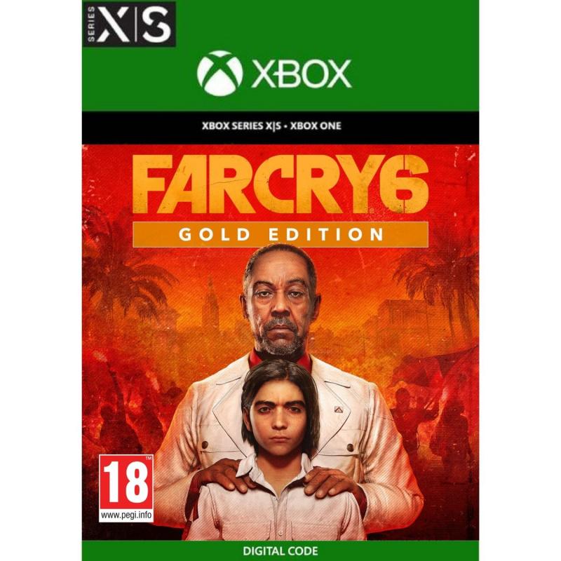 Far Cry 6 Gold Edition Xbox One   Series S/X (kodas)