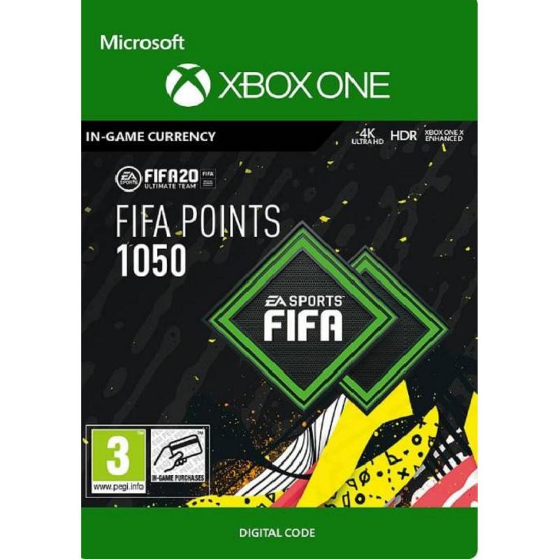 FIFA 20 1050 FUT points Xbox One skaitmeninis