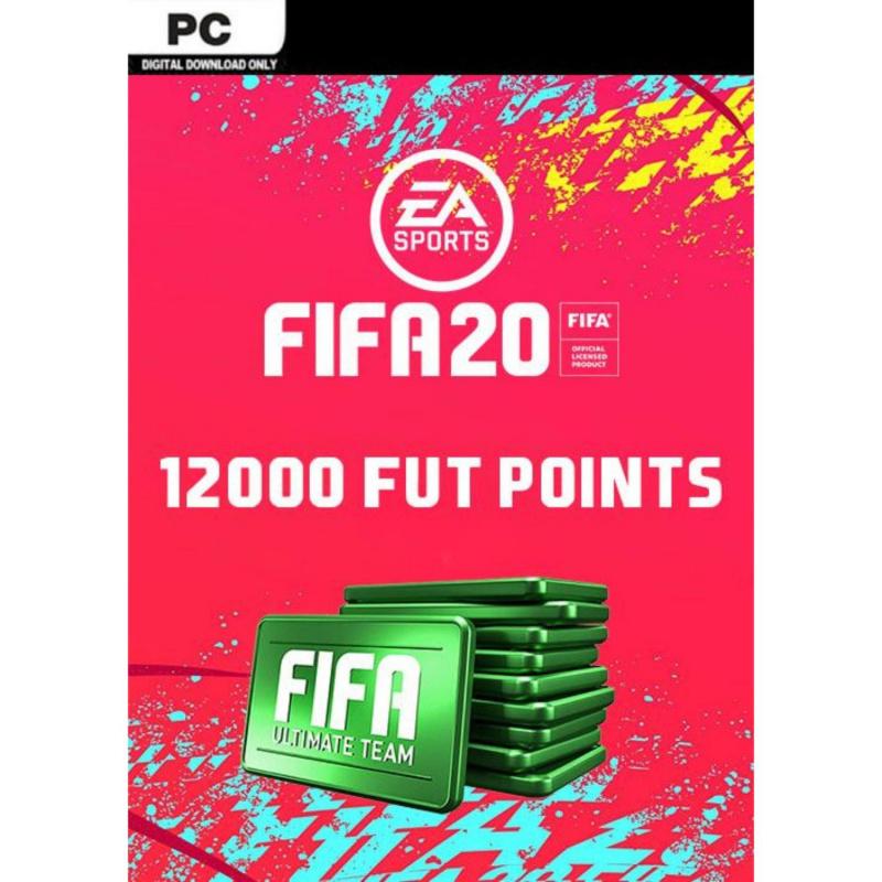 FIFA 20 Ultimate Team - 12000 FIFA points PC skaitmeninis
