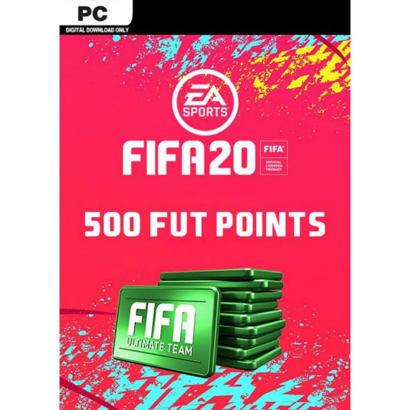 FIFA 20 Ultimate Team - 500 FIFA points PC skaitmeninis