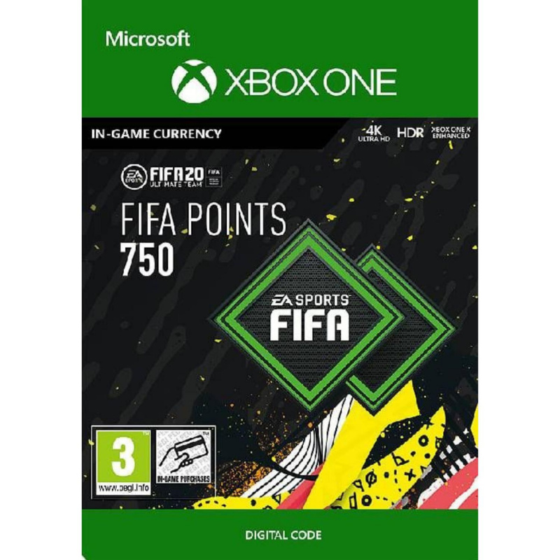 FIFA 20 750 FUT points Xbox One skaitmeninis