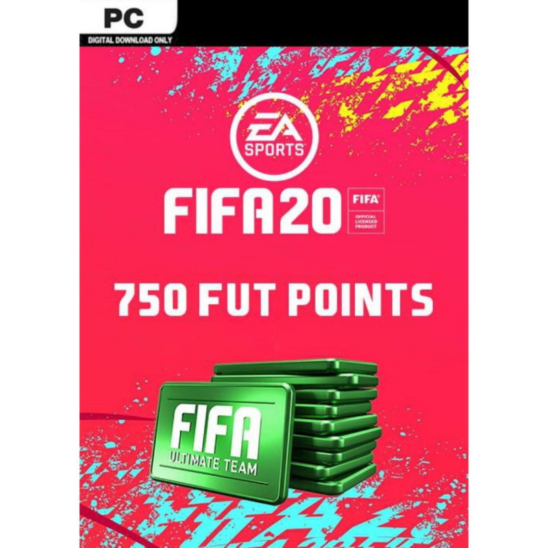 FIFA 20 Ultimate Team - 750 FIFA points PC skaitmeninis