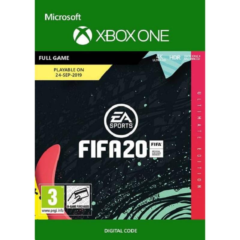 FIFA 20 Ultimate Edition Xbox One skaitmeninis