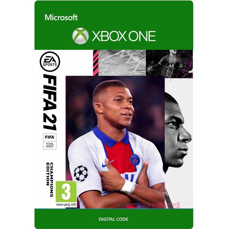 FIFA 21 Champions Edition Xbox One skaitmeninis
