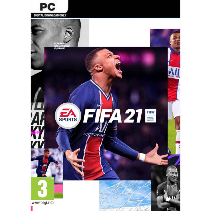 FIFA 21 PC skaitmeninis ENG | RUS įgarsinimas