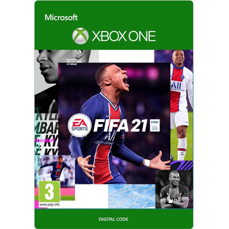 FIFA 21 Xbox One (kodas)