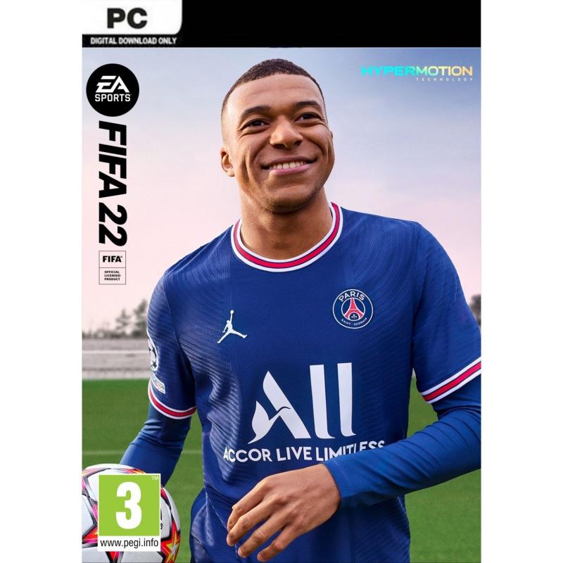 FIFA 22 PC (kodas) Origin ENG | RUS įgarsinimas