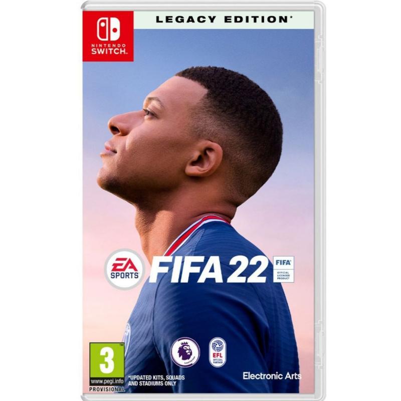 FIFA 22 Legacy Edition Nintendo Switch ENG | RUS | PL įgarsinimas