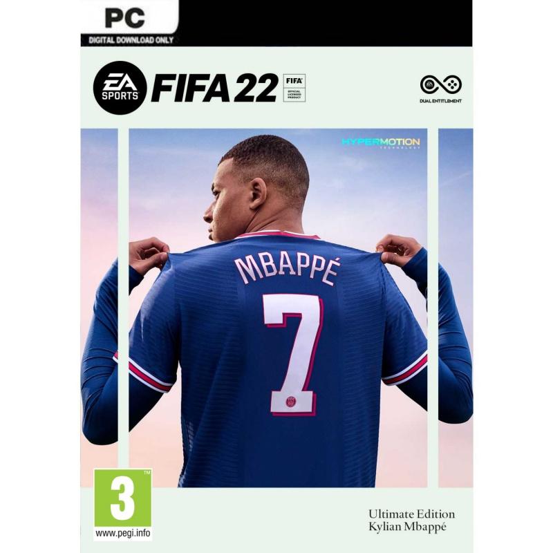 FIFA 22 Ultimate Edition PC (kodas) Origin