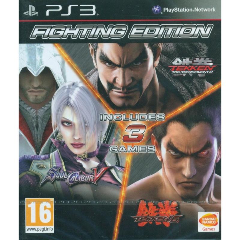 Fighting Edition: Tekken 6 / Tekken Tag Tournament 2 ir Soul Calibur V PS3