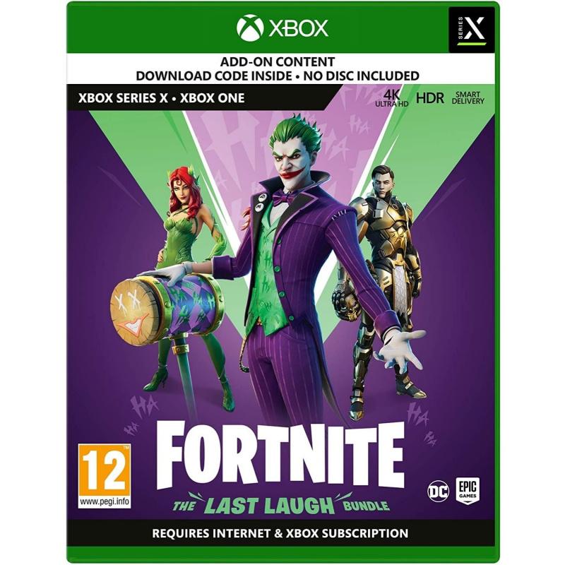 Fortnite The last Laugh Bundle žaidimo papildinys Xbox One   Series S/X