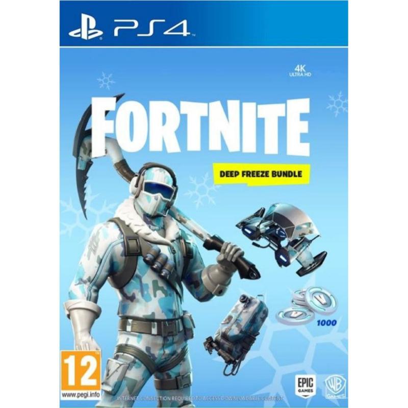 Fortnite Deep Freeze Bundle PS4 skaitmeninis