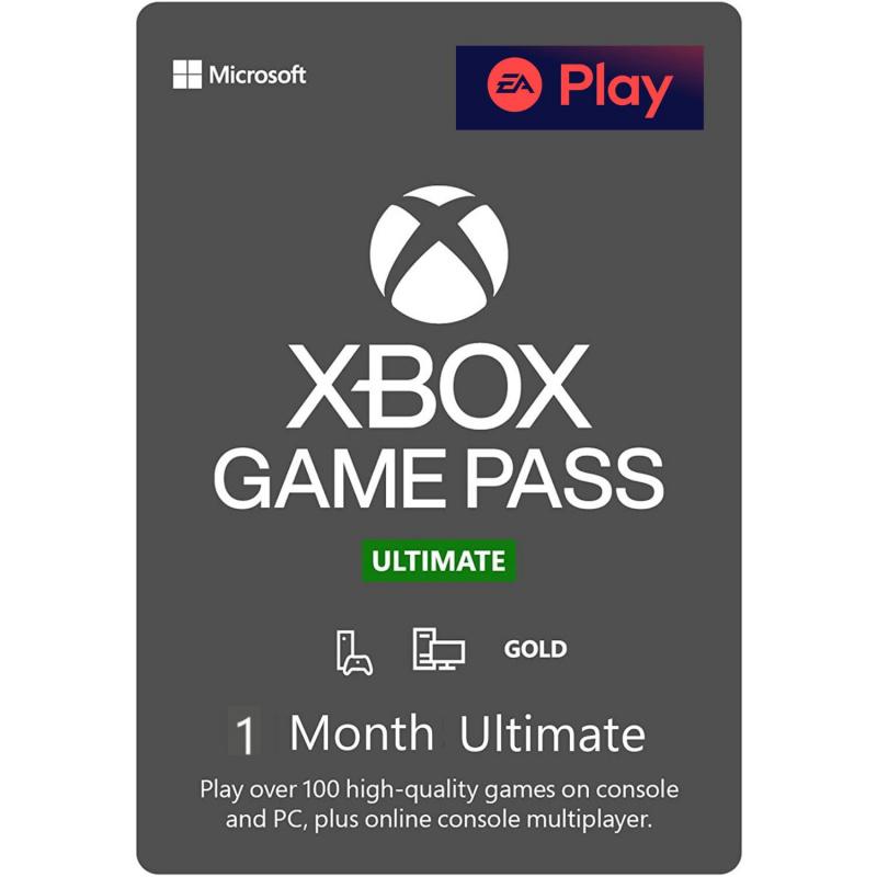Xbox Game Pass Ultimate 1 mėnesio prenumerata