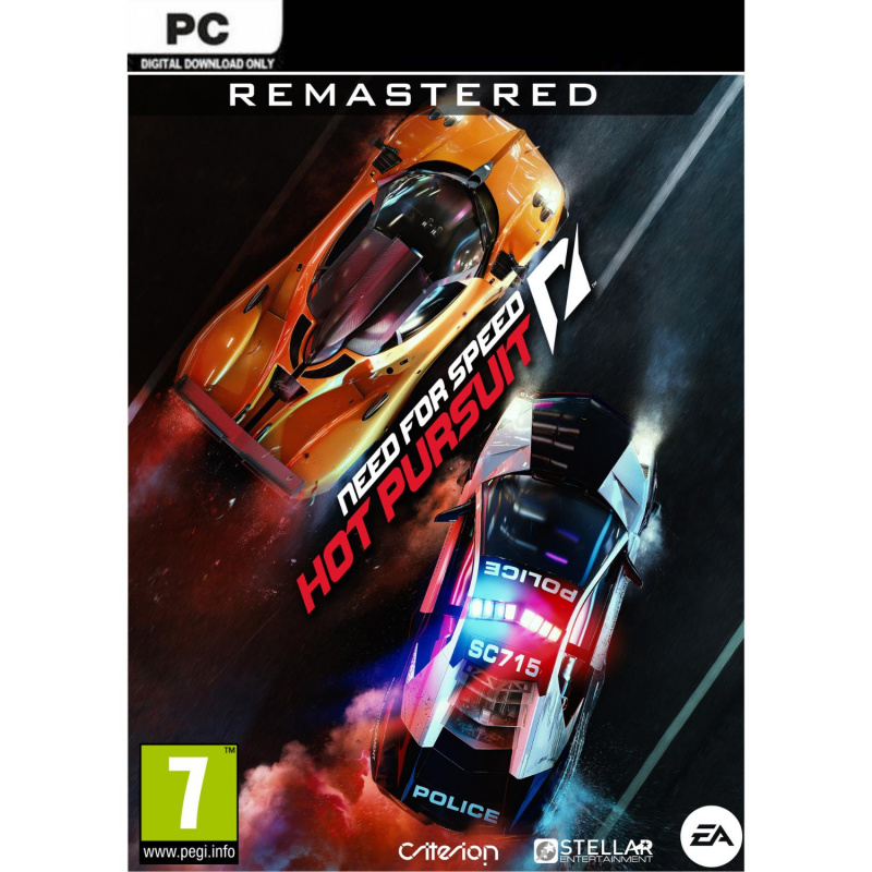 Need for Speed Hot Pursuit Remastered PC (kodas)