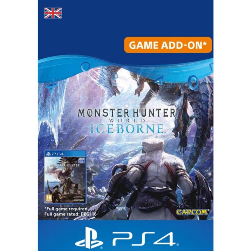 Monster Hunter World: Iceborne Add On PS4 skaitmeninis