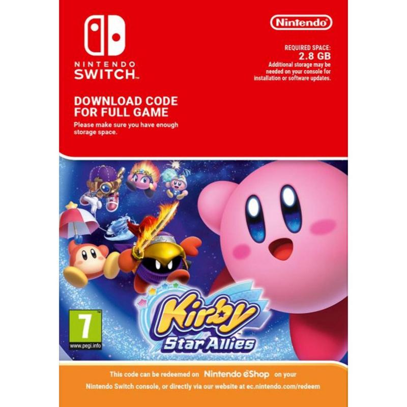 Kirby Star Allies Switch skaitmeninis