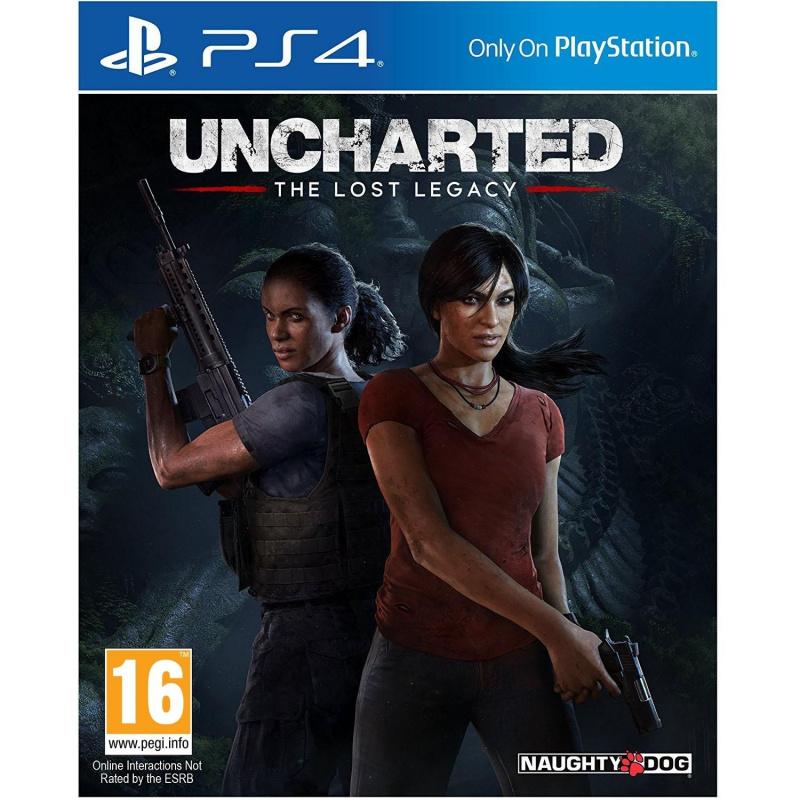 Uncharted: The Lost Legacy PS4 ENG   RUS įgarsinimas