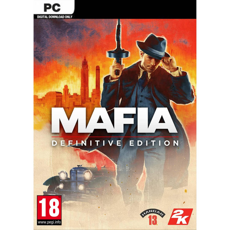 Mafia Definitive Edition PC skaitmeninis