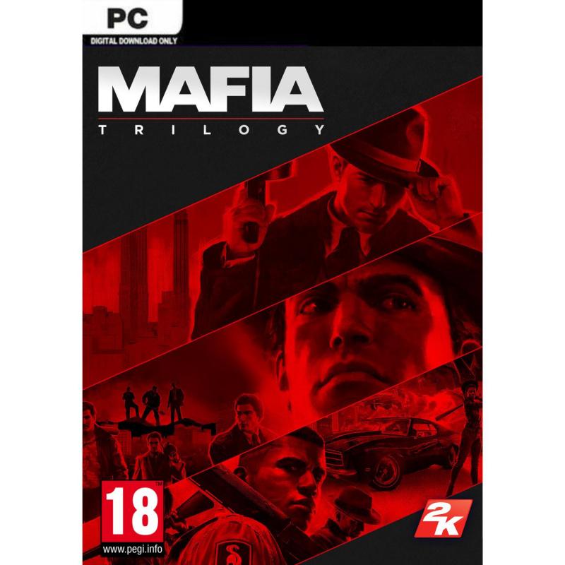 Mafia Trilogy PC skaitmeninis