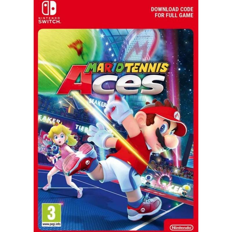 Mario Tennis Aces Switch skaitmeninis