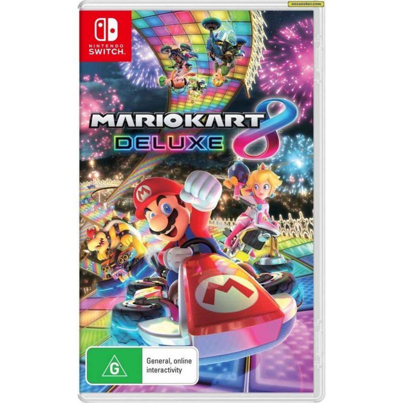 Mario Kart 8 Deluxe Switch