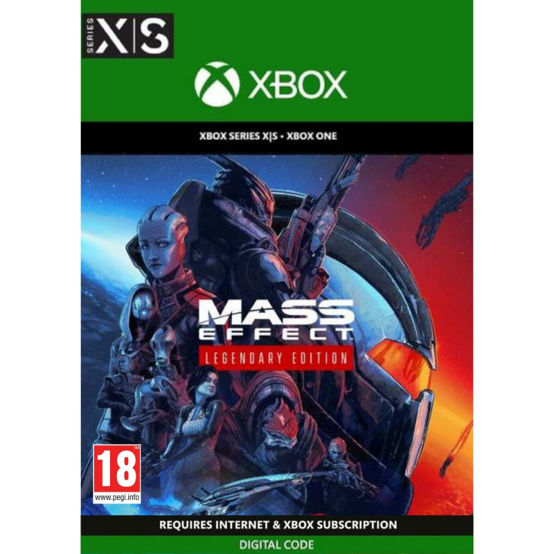 Mass Effect Legendary Edition Xbox One | Series X (kodas)