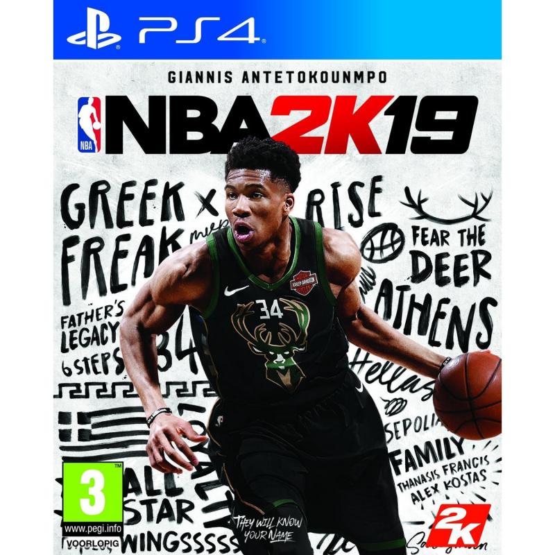 NBA 2K19 PS4 + Steelbook