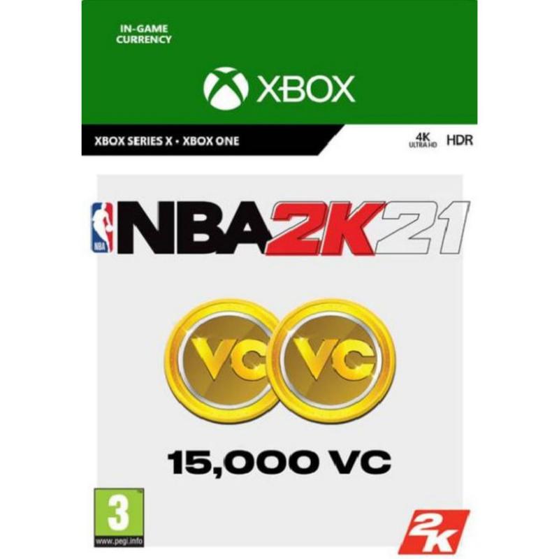 NBA 2k21 15,000 VC Xbox One skaitmeninis