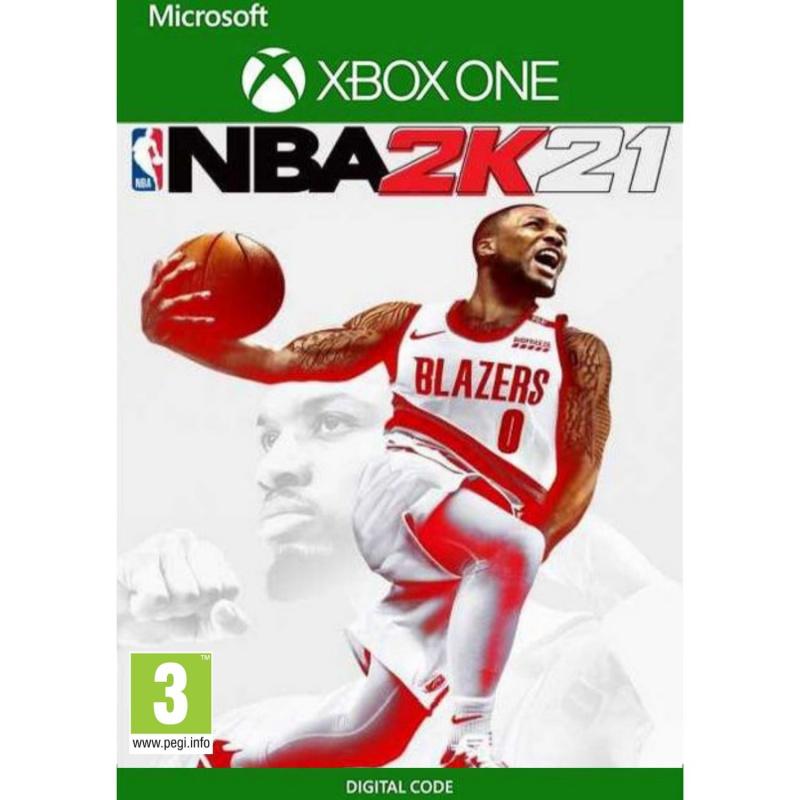 NBA 2k21 Xbox One (kodas)