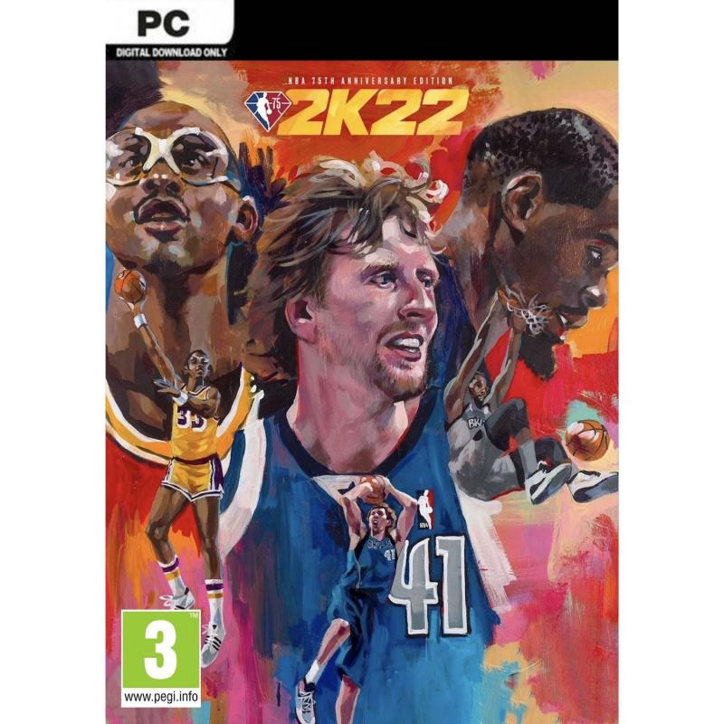 NBA 2k22 75th Anniversary Edition PC (kodas) Steam