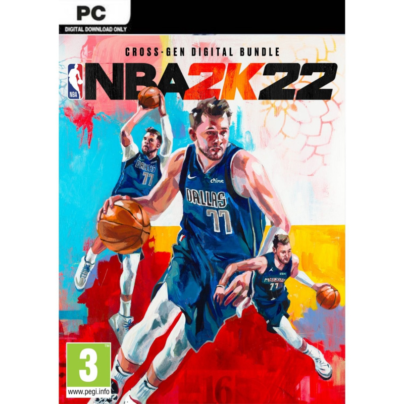 NBA 2k22 PC (kodas) Steam