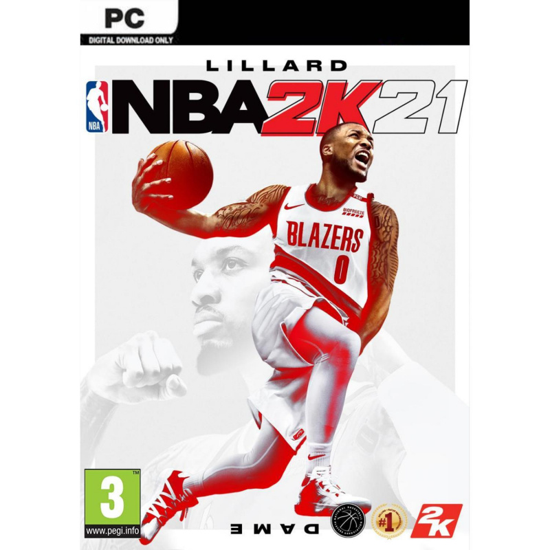NBA 2k21 PC skaitmeninis