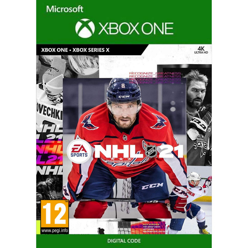 NHL 21 Standard Edition Xbox One (kodas)