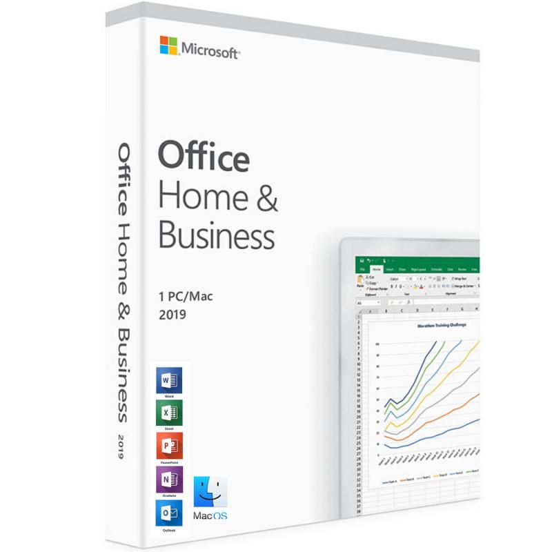 Microsoft Office Home & Business 2019 MAC 1 PC skaitmeninis