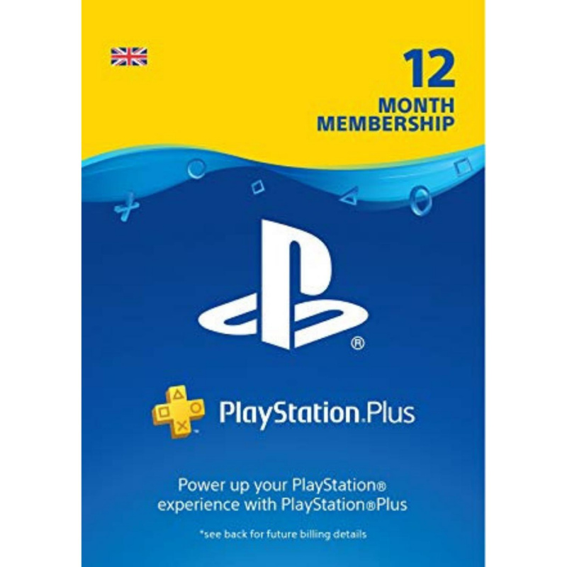 Playstation Plus 12 mėnesių prenumerata