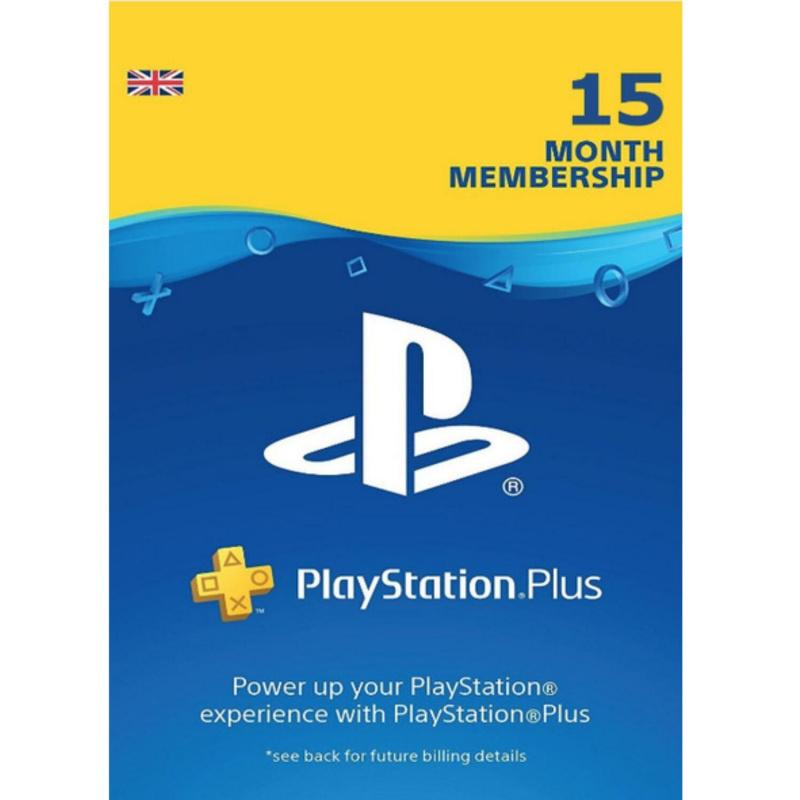 Playstation Plus 15 mėnesių prenumerata