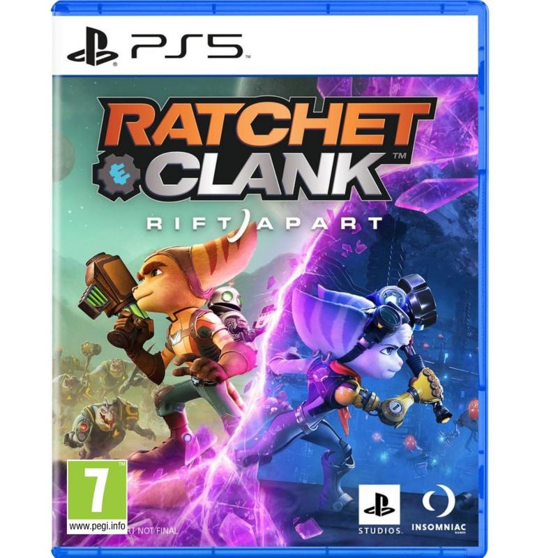 Ratchet & Clank Rift Apart PS5 ENG | RUS įgarsinimas